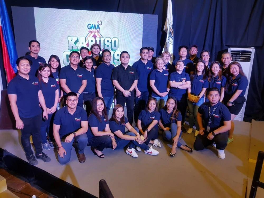 GMA Regional TV headed by Vice President and Head Oli Amoroso with the GMA North Central Luzon team and the Masterclass panelists.