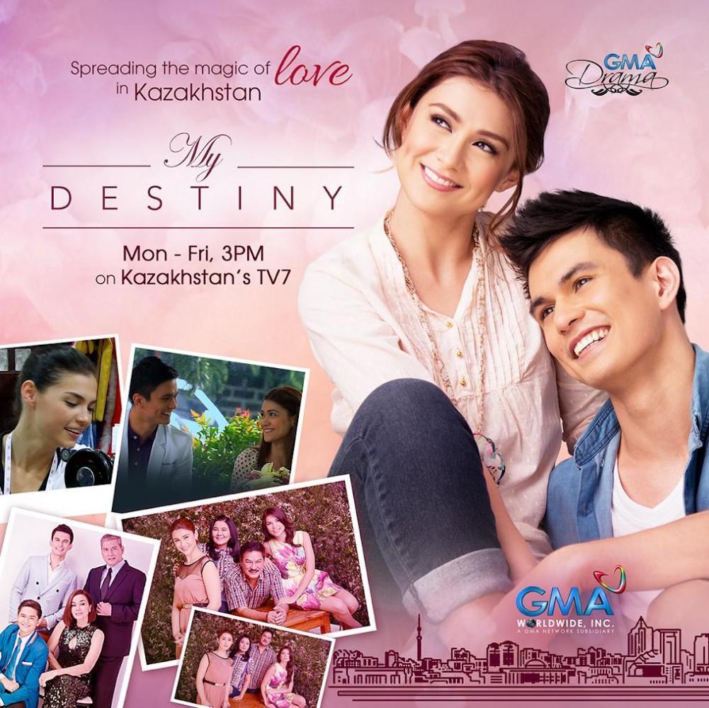 GMA's Romance Drama 'My Destiny' Premieres in Kazakhstan