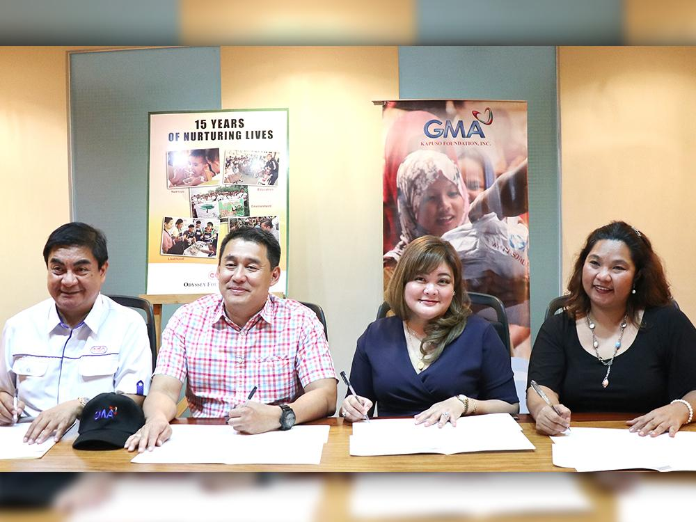 GMA Kapuso Foundation, CDO Odyssey Foundation ink partnership anew for feeding project