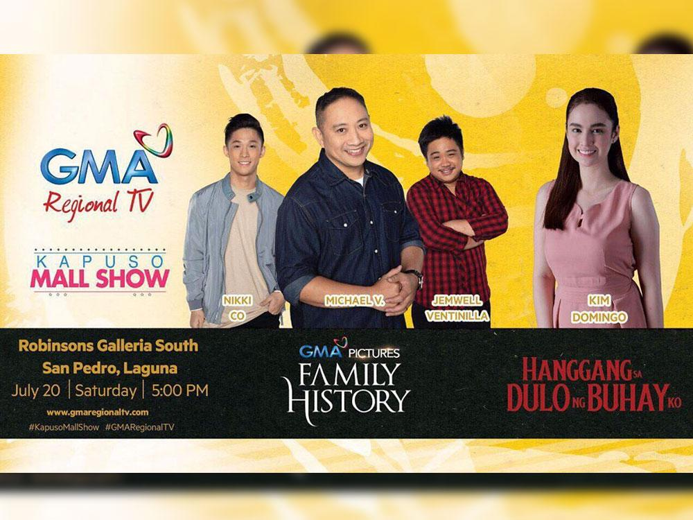 'FamilyHistory' starsto do a mall show in the South