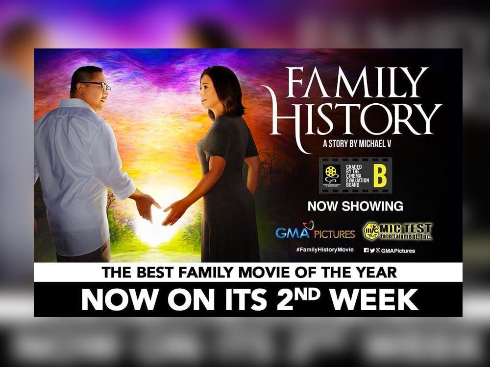 Sugod na sa mga sinehan para manood ng 'Family History!'