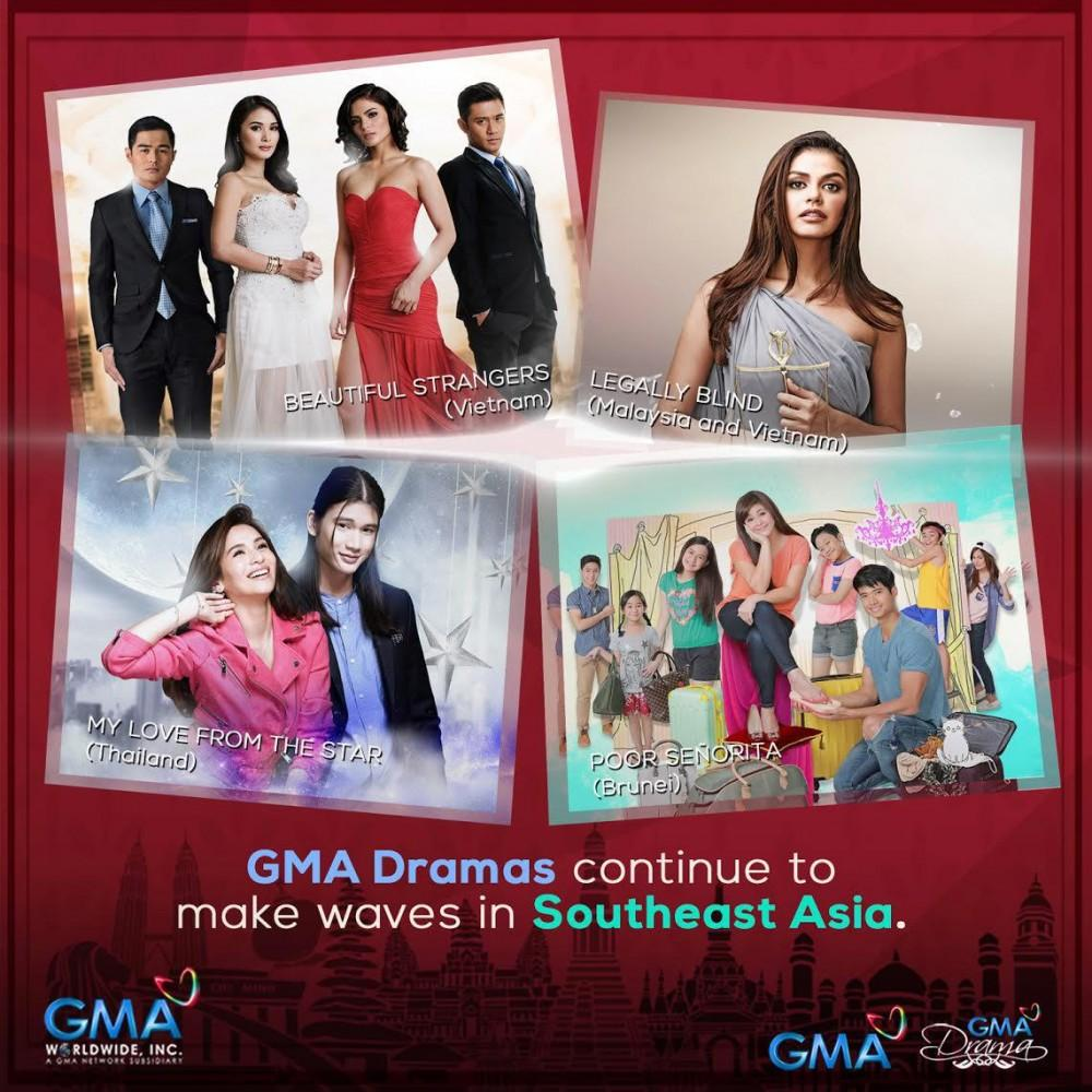 GMA Dramas Make Waves in Southeast Asia | News and Events