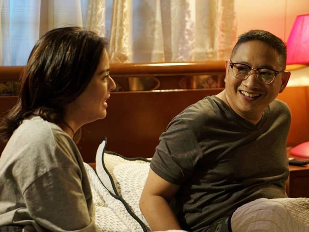 Dawn Zulueta and Michael V.