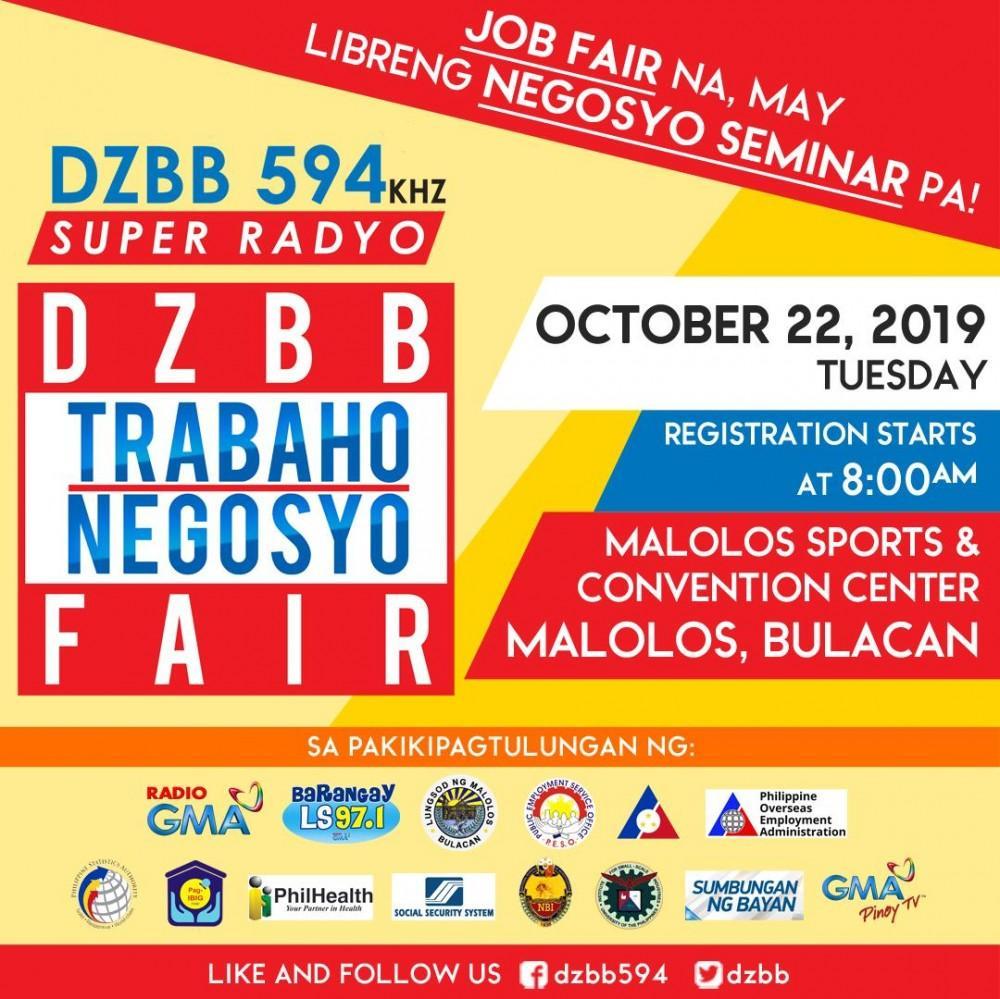 Trabaho Negosyo Fair goes to Malolos