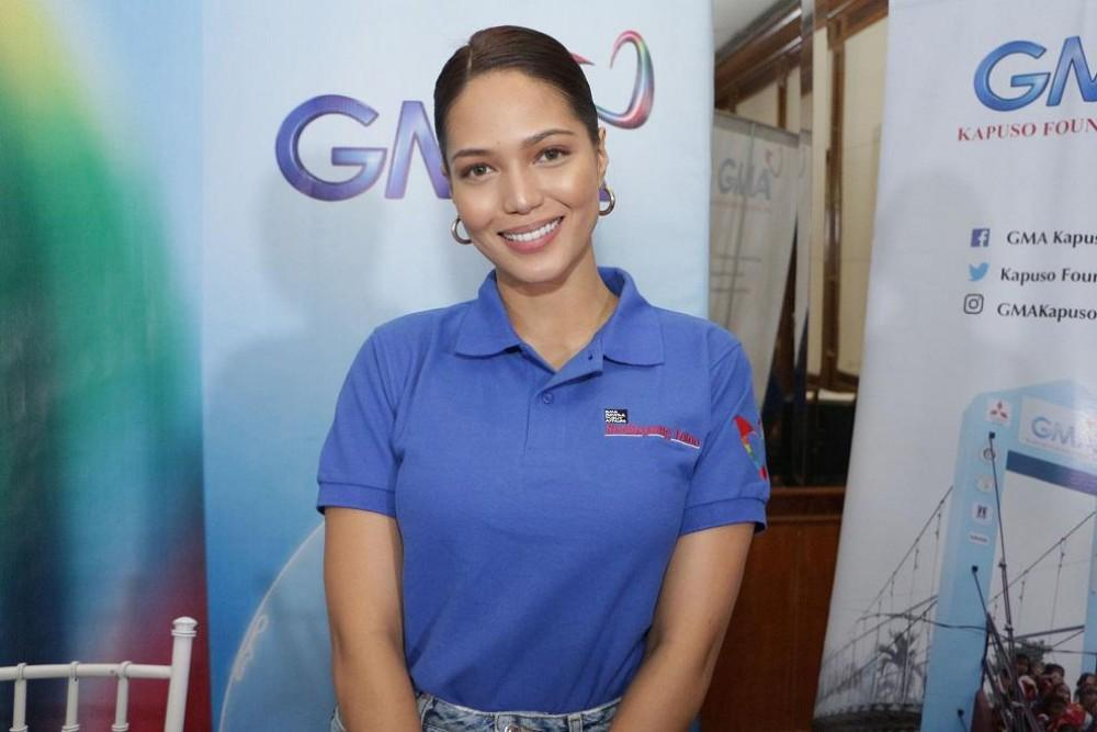 Kapuso host and actress Patricia Tumulak is GMA Kapuso Foundation's advocate for Kapuso School Development.
