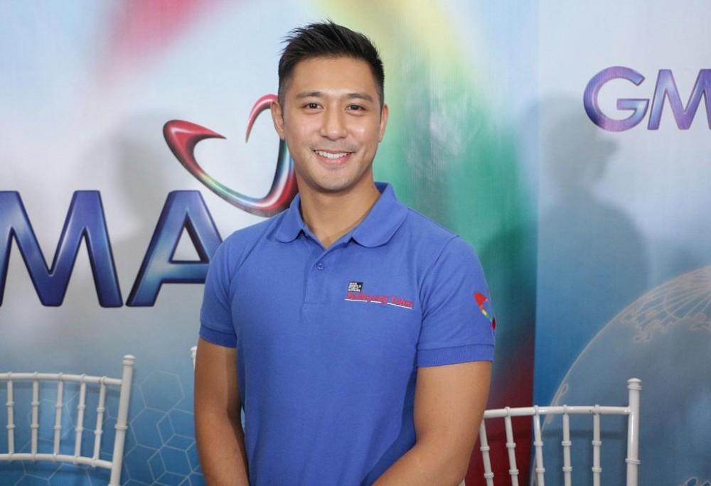 Versatile and talented Kapuso dramatic actor Rocco Nacino is GMA Kapuso Foundation's advocate for Health and Nutrition.