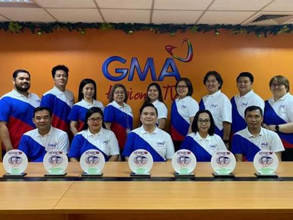 "This year, various programs and special coverage of GMA Regional TV have also been honored by Anak TV as ""child-friendly"". GMA Regional TV, led by its Vice President and Head Oliver Victor Amoroso, took home 8 Anak TV Seal honors."