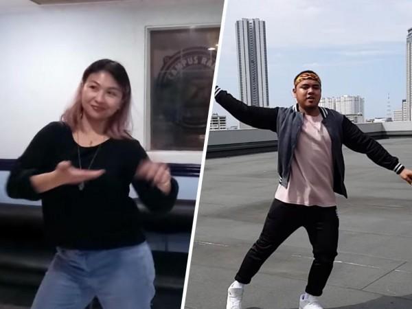 """Barangay LS DJs move to the beat of Sarah Geronimo's dance hit """"Tala"""""""