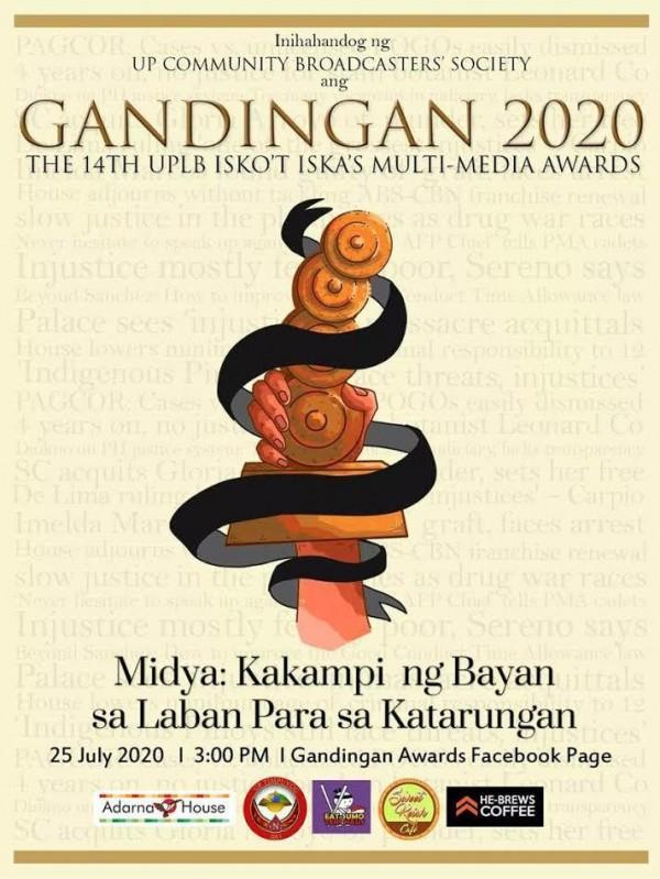 Super Rady DZBB at Barangay LS personalities wagi sa 2020 Gandingan awards