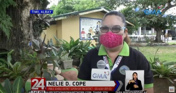 Nelie D Cope