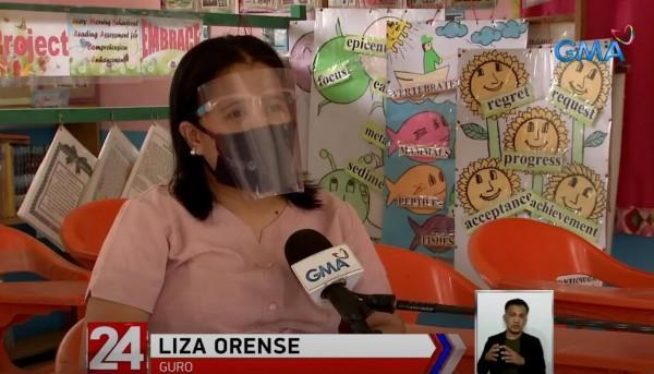 Liza Orense isang guro