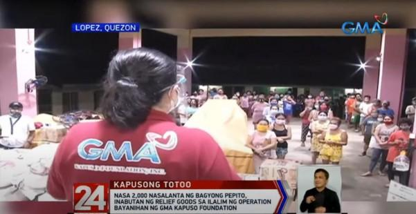 GMA Kapuso Foundation sa Lopez Quezon