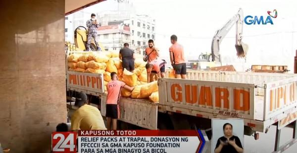 Donations for Bicol