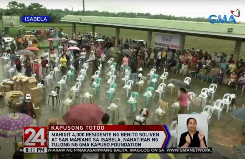 GMA Kapuso Foundation in Isabela
