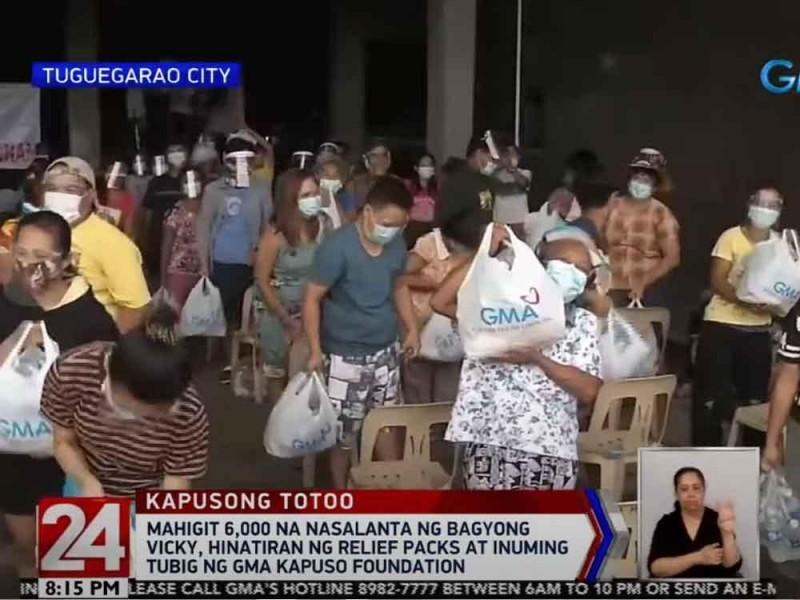 GMA Kapuso Foundation in Cagayan