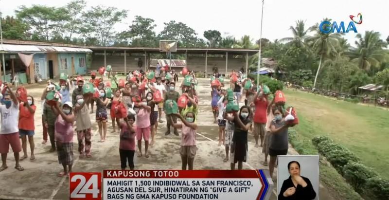GMA Kapuso Foundation in Agusan del Sur