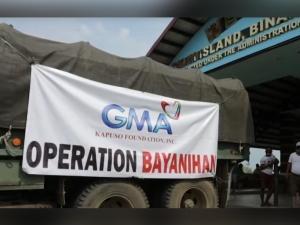 GMA Kapuso Foundation in Talim Rizal