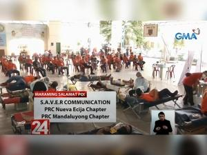 GMA Kapuso Foundation Sagip Dugtong Buhay Bloodletting Project