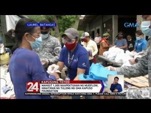 GMA Kapuso Foundation helps Batangas
