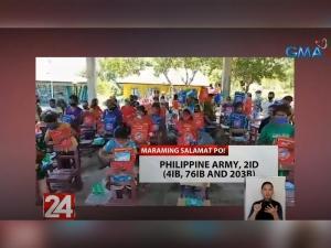 Donasyon sa GMA Kapuso Foundation