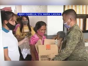 GMA Kapuso Foundation helps Laguna