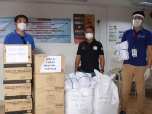 kapuso foundation gives donation to public hospitals