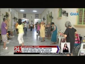 GMA Kapuso Foundation helps the elderly