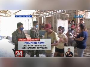 GMA Kapuso Foundation helps Rizal