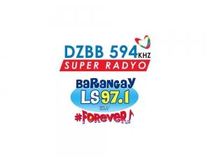 super radyo DZBB 594 and Barangay LS