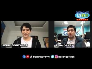 Jeric Gonzales on Sikat