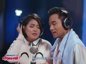 Rita Daniela Ken Chan Tayo ay Forever music video