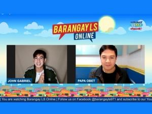 John Gabriel on Barangay LS Online