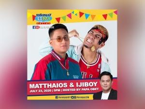 Matthaios and Igiboy on Barangay LS online