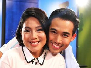 Kilig moments with Rita Daniela and Ken Chan in the music video shoot of Tayo ay Forever