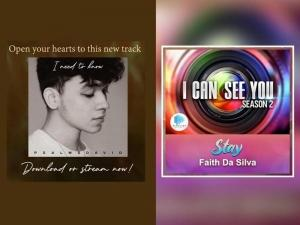 song posters for Stay and I Need To Know